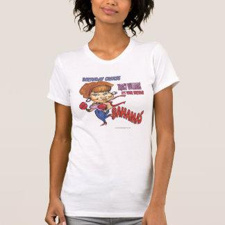 caricatura de la travesía del cumpleaños de camisetas