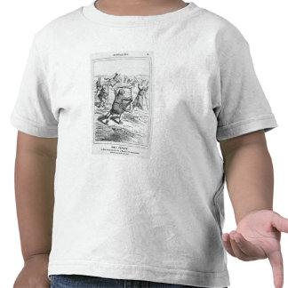 """Caricatura de """"Le Charivari' Camisetas"""