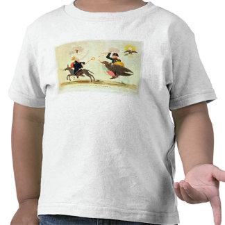 Caricatura de los 'cientos días camisetas