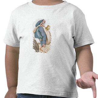 Caricatura de Louis XVIII 1815 Camisetas
