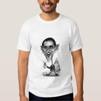 Caricatura de Obama Camisetas