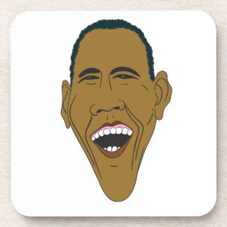 Caricatura de Obama Posavasos
