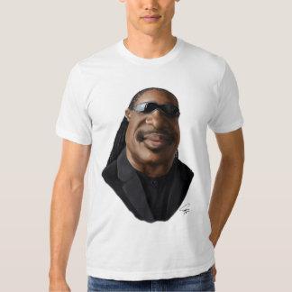 Caricatura de Stevie Wonder Camisetas