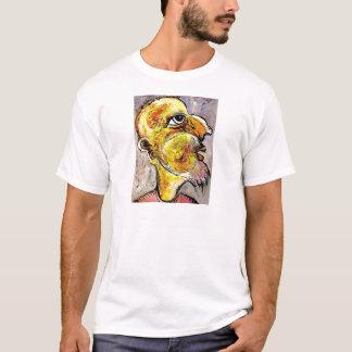 Caricatura de un hombre sabio camiseta