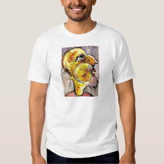 Caricatura de un hombre sabio camisetas