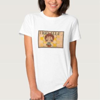 Caricatura de una mamá camiseta