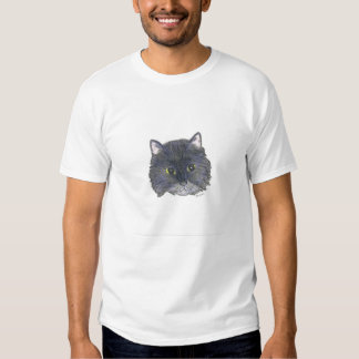 Caricatura del gatito de las ilustraciones de camisas