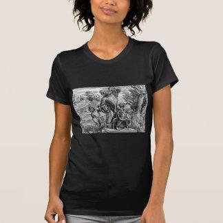 Caricatura del Laoc en grupo por Titian Camisas
