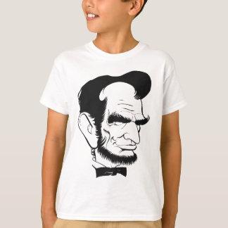 caricatura divertida de Abraham Lincoln Camisetas