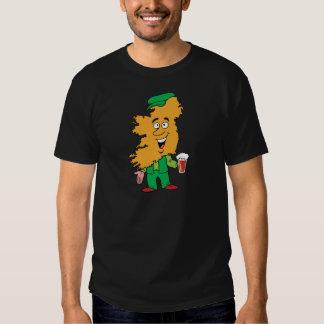 Caricatura irlandesa del recuerdo del viaje del camiseta