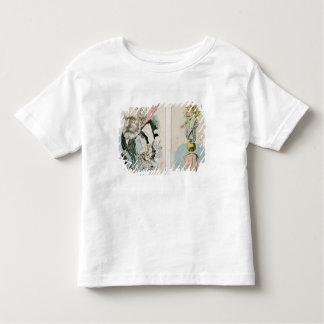 Caricaturas de Victor Hugo y de Napoleon III Camiseta