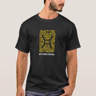 caridad: camiseta del icono del agua de Jeremy