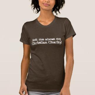 Caridad cristiana camisetas