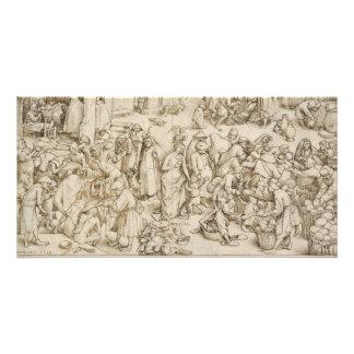 Caritas (caridad) por Pieter Bruegel la anciano Tarjetas Personales