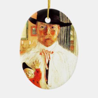 Carl Larsson con el payaso del juguete Ornamento De Reyes Magos