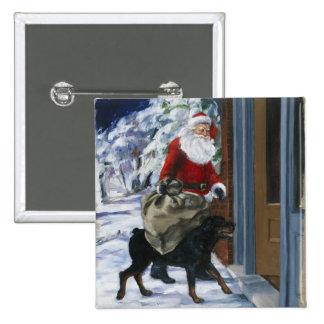 Carl que ayuda a Papá Noel de <Carl's Christmas> b Pins