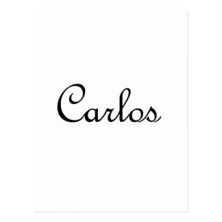 Carlos Tarjetas Postales