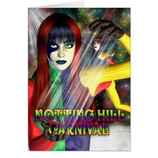 Carnaval de Notting Hill, celebración Tarjeta De Felicitación