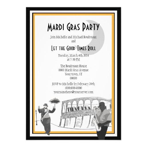 Carnaval del jazz de New Orleans Anuncios Personalizados