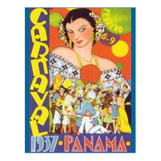 Carnaval en Panamá Postal