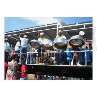 Carnaval en San Fernanado Trinidad Tarjeta De Felicitación