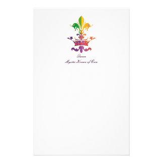 Carnaval Fleur de Crown Papelería De Diseño