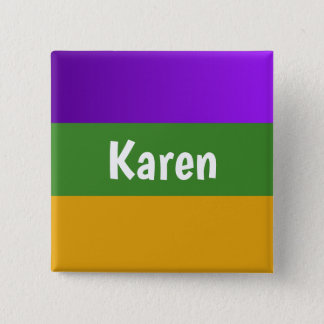 Carnaval personalizado del botón
