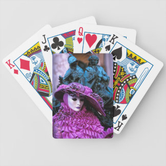 Carnaval veneciano baraja de cartas bicycle