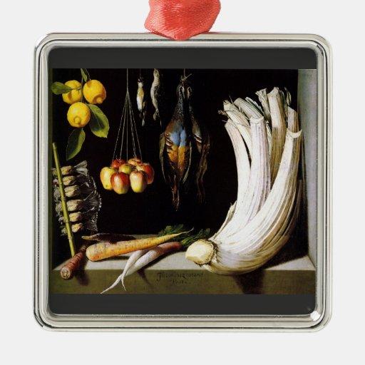 carne de venado, verduras y frutas de Sánchez Ornamente De Reyes
