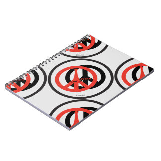 Carnet Peace and Love Steph2 Libreta Espiral