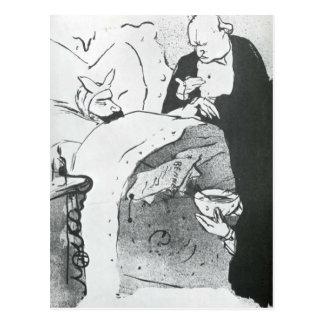 Carnot Malade no puede enfermo, una canción Postal