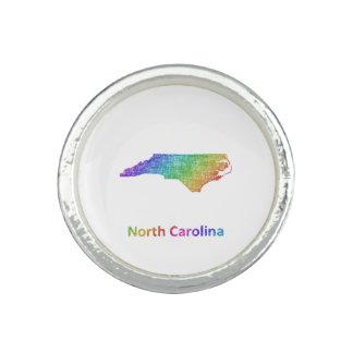 Carolina del Norte Anillo Con Foto