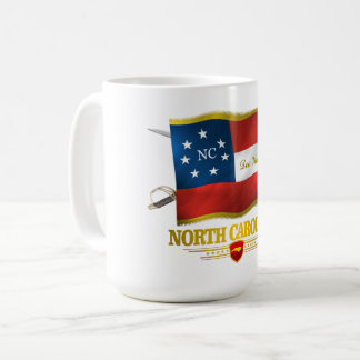 Carolina del Norte - Deo Vindice Taza De Café