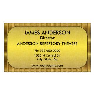Carpa de las artes interpretativas del teatro tarjetas de visita