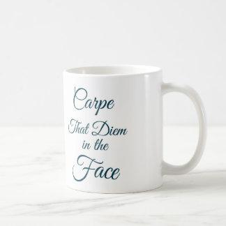 Carpe Diem Taza De Café