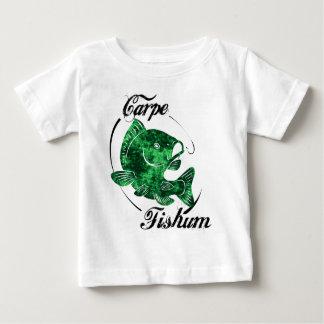 Carpe Fishum Camiseta De Bebé