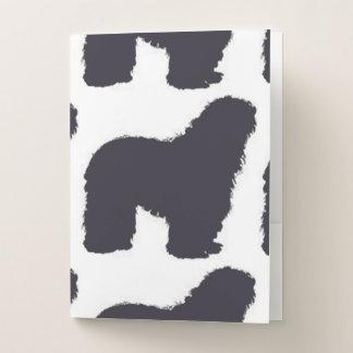 Carpeta Con Bolsillos color del bergamasco_silhouette