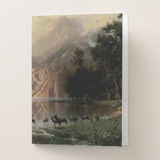 Carpeta Con Bolsillos Entre las montañas de Sierra Nevada