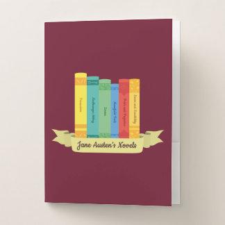 Carpeta Con Bolsillos Las novelas de Jane Austen III