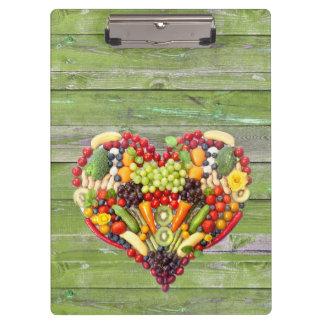 Carpeta De Pinza Amor del vegano mi corazón