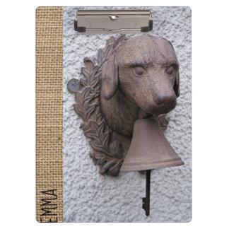 Carpeta De Pinza Año personalizado original 2018 del perro del