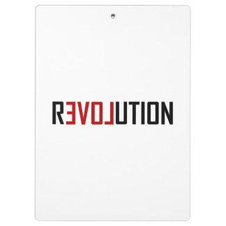 Carpeta De Pinza Arte del amor de la revolución