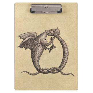 Carpeta De Pinza Azufre y Mercury de los dragones de Ouroboros
