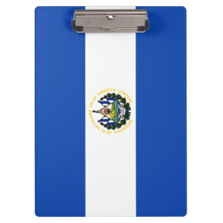 Carpeta De Pinza Bandera de El Salvador
