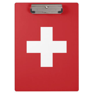 Carpeta De Pinza Bandera de Suiza