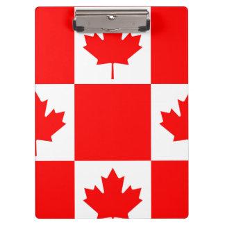 Carpeta De Pinza Bandera nacional de Canadá, hoja de arce, arriba
