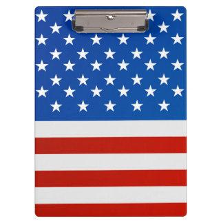 Carpeta De Pinza Bandera nacional de Estados Unidos