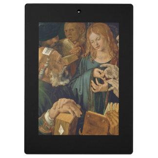 Carpeta De Pinza Cristo entre los doctores c1506