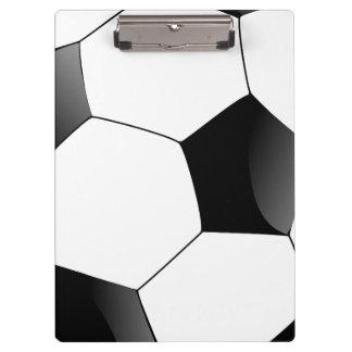 Carpeta De Pinza Deportes personalizados de la fan del balón de