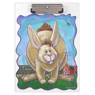Carpeta De Pinza Desfile lindo del animal del conejo